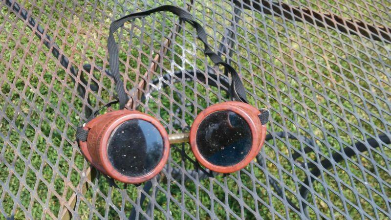 Vintage Welding Goggles Bakelite USA