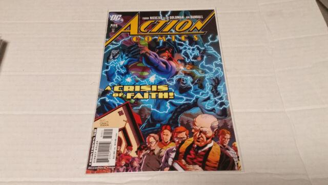 Action Comics # 849 (DC, 2007)