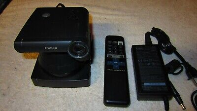 Canon Vc-c3 Pantiltzoom Communication Camera Ptz Wpower Supply And Remote