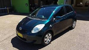 2007 Toyota Yaris YRS 1.5L 4 Cylinder NCP91R Hatchback - AUTO Waratah Newcastle Area Preview