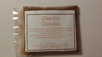 Chocolate Frosted Popcorn flavouring big 40g packet