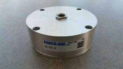 New Fabco Air Aa-721-x Pneumatic Flat Cylinder Free Shipping