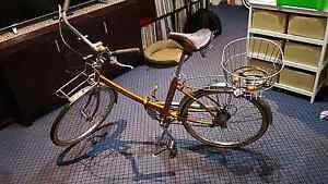 Vintage 1974 Peugeot NSL22 Nouveau Style Folding Bicycle Kingsford Eastern Suburbs Preview