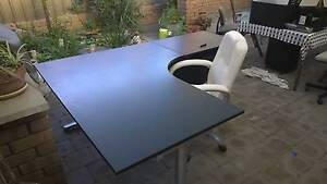 Ikea Galant Office Desk, Drawer unit and Chair Holden Hill Tea Tree Gully Area Preview