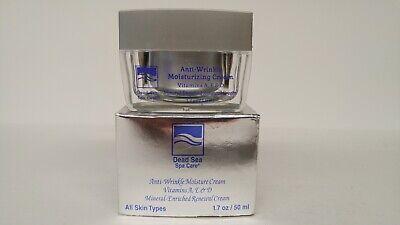 Anti-Wrinkle and Anti-Aging Moisture Cream by Dead Sea Spa Care 1.7 oz. Dead Sea Spa Care