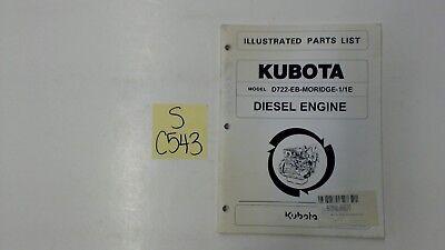 Kubota Parts List D722em-moridge-11e
