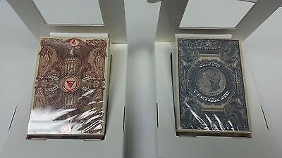 Federal 52 Reserve Note & Silver Certificate Playing Cards Decks New Unbranded