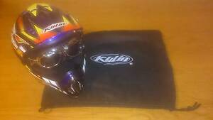 motorbike helmet Lachlan Derwent Valley Preview