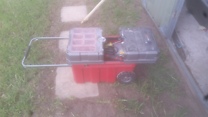 Toolbox with wheels Kings Langley Blacktown Area Preview
