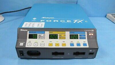 Valleylab Force Fx-c Esu Electrosurgical Generator - Warranty W Foot Switches
