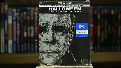 Halloween Movies Best (Halloween 2018 SteelBook Best Buy Limited 4K Blu / Digital Code Factory)