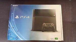PS4 Console, Controller & 4 Games Panorama Mitcham Area Preview