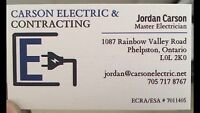 CARSON ELECTRIC + CONTRACTING LTD. ELECTRICAL CONTRACTOR