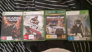 Xbox 360 games Upper Coomera Gold Coast North Preview