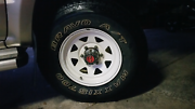 8 15×7 Roh steel rims with 4 maxis a/t 700's Elizabeth Playford Area Preview
