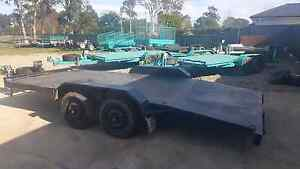 HIRE CAR TRAILERS BIKE TRAILERS 12X6 CAGE 8X5 CAGE TRAILERS 6X4 Kemps Creek Penrith Area Preview