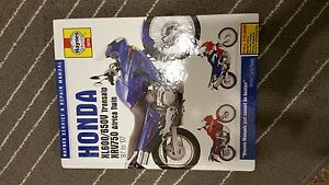 Haynes manual Honda Transalp Africa Twin