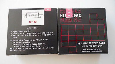 Kleerfax 15 Cut Hanging File Folder Tabs Pink 2 Boxes Of 25