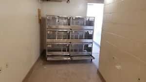 Stainless animal cages
