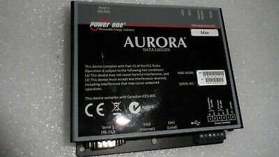 Power-one Abb Aurora Vsn-mgr-aux-cpu Solar Energy Internet Gateway Data Logger
