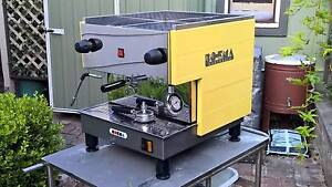 Refurbished Boema Coffee Machine 10amp + Rancilio MD40 Grinder Enmore Marrickville Area Preview
