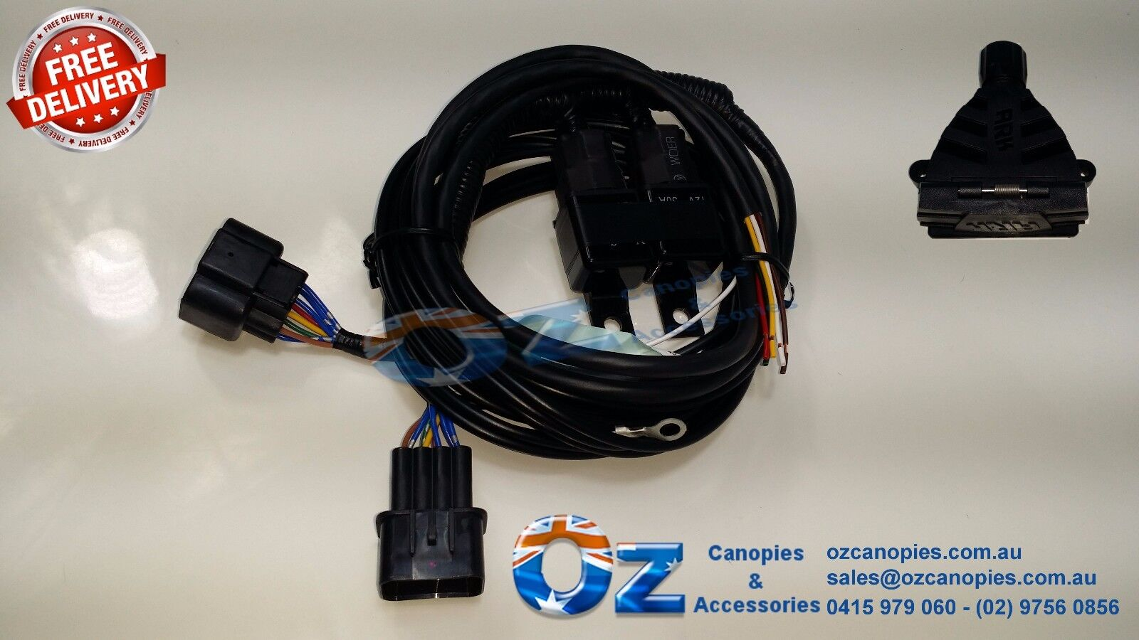 Holden Rodeo Ra 08 2005 2 2008 Towbar Trailer Wiring Harness Loom Installation Of A On 12