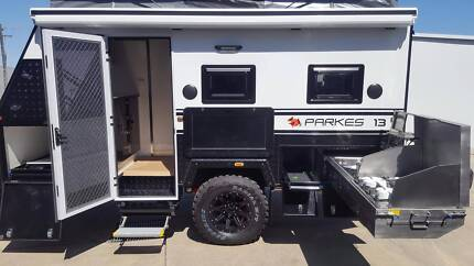 Off Road Caravan - Parkes 13 with internal shower. PMX Caravans