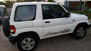 99 Pajero io 4wd rego 5mth runs mint Raceview Ipswich City Preview