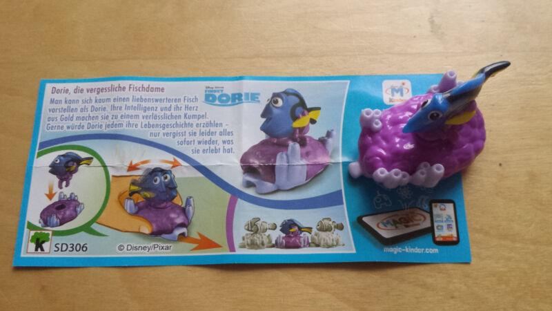 Überraschungsei Ü - Ei Findet Dorie mit BPZ SD306 Meer Fisch Disney / Pixar NEU