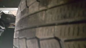 4 corolla rims with winter tires 195 65r15