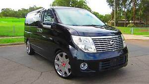 2005 Nissan Elgrand Ser2 E51 HighWay Star !!! TWIN SUNROOF !!! Kings Park Blacktown Area Preview