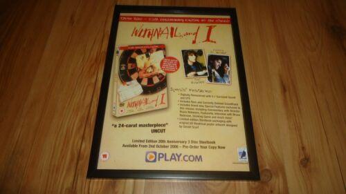 WITHNAIL AND I richard e grant-framed original advert