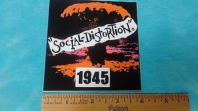 Social Distortion 1945 4 Inch Sticker