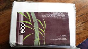 New Bamboo Queen size sheet set Albert Park Port Phillip Preview