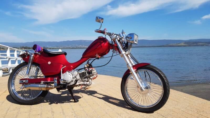 Honda Ct110 Postie Custom Cafe Bobber Motorcycles Gumtree