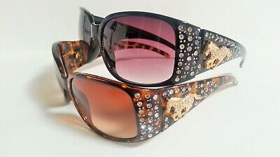 Womens Fashion Sunglasses Rhinestones Horse   (Horse Sunglasses)