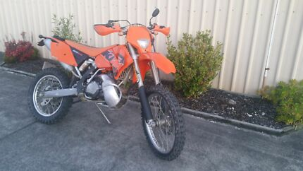 Ktm 300exc and box trailer  Newcastle 2300 Newcastle Area Preview