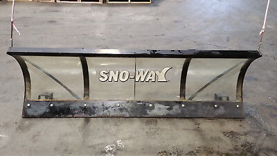"SNO-WAY Lexan SNOW PLOW BLADE 80"" X 24"" PLEXYGLASS clear SERIES26"