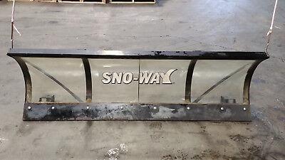 Sno-way Lexan Snow Plow Blade 80 X 24 Plexyglass Clear Series26