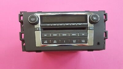2008 2009 2010 2011 CADILLAC DTS DISC CD MP3 Player Radio Receiver OEM 25849389