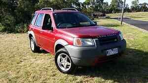 1999 Land Rover Freelander. Turbo Diesel. Glenroy Moreland Area Preview