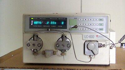 Shimadzu Lc-600 Liquid Chromatograph Power On Tested Ok