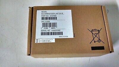 Elo Msr-et2201l-mt-gy-r Pos Monitor Magnetic Stripe Credit Debit Card Reader