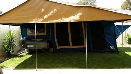 2011 Blue Tongue Camper Trailer