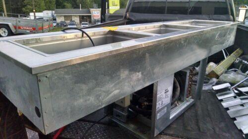 Delfield 8169-EFN Narrow Three Pan cooler softserve