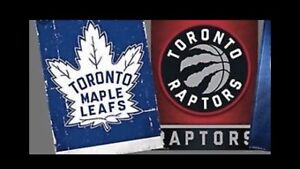 WANTED - RAPTOR and LEAFS PLAYOFF - 2019/20 TICKETS
