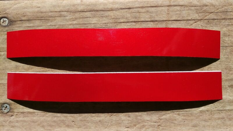 """3M High Intensity Red Reflective Tape 8"""" x 1"""" (2)"""