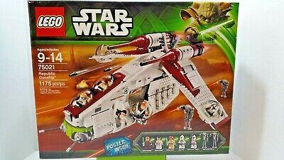 LEGO 75021 Star Wars Republic Gunship NEW UNOPENED