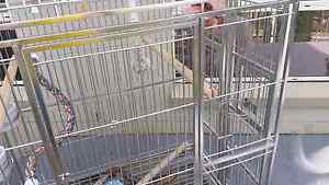 Stainless steel bird cage Jerrabomberra Queanbeyan Area Preview