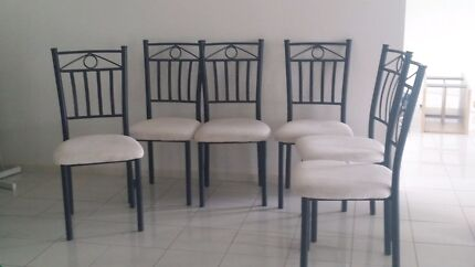 Dining table chairs - only 4 left Cameron Park Lake Macquarie Area Preview